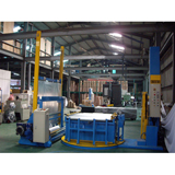 Fully Auto Pallet Stretch Wrapping Machine + Film Cover
