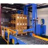 Full Auto Horizontal Type Palletized Strapping Machine