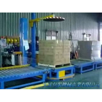 Pallet Auto Top Pressure Wrapping Packing System
