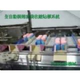 Auto Tray Sealing, shrinking and label Line