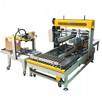 Auto Sealing + Carton Edge Sealing + Strapping System