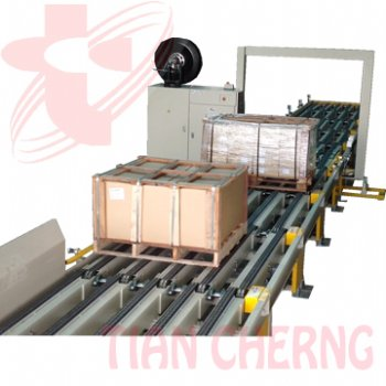 Wood Box Strapping Machine