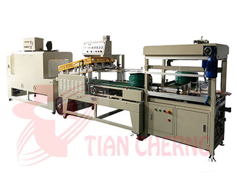 Hose automatic shrink 、carton sealing packaging system