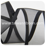 W4688-15,Wired Sheer Ribbon