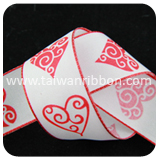 P002-7,Valentine's day Ribbon