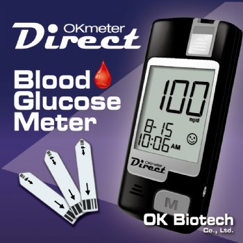 OKmeter Direct Blood Glucose Monitoring System