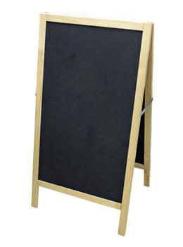 """42.5""""H Wood Framed Chalkboard Stand"""