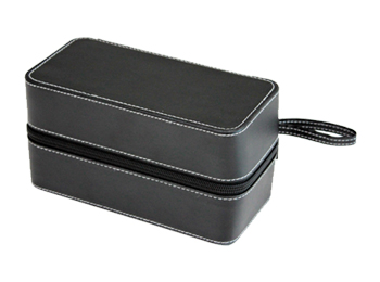 Handmade Luxury Leather Watch Storage Box with holder