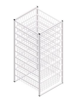 10 Tier Wire Storage Shelf Organizer