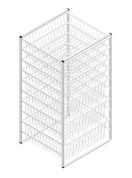10 Tier Wire Drawer Storage Organizer