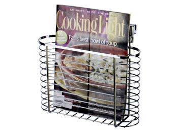 Chrome Wire Kitchen Cookbook Holder