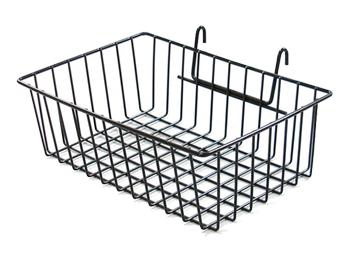 Gridwall Metal Wire Storage Baskets