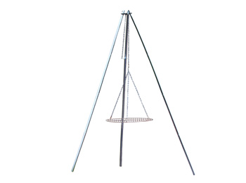 Adjustable Campfire Tripod Grill