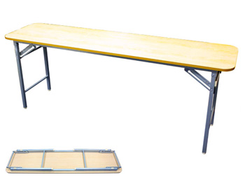 Maple Laminate Folding Utility Table
