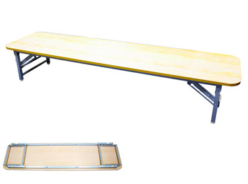 Folding Rectangular Conference Table