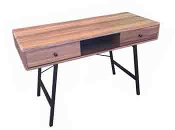 Particle Wood Board And Metal Desk