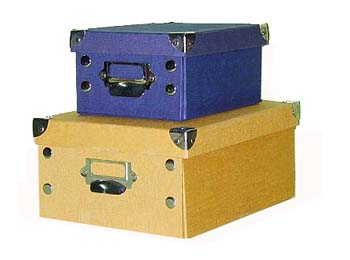 Office Document Storage File Box with Lid