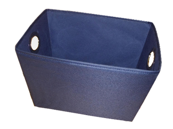 Small Trapezoidal Fabric Storage Totes