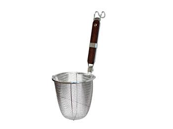 Stainless Steel Mesh Noodle Strainer Basket