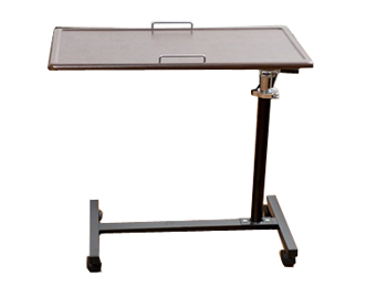 Adjustable Wooden Overbed Table