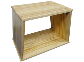 Stackable Wooden Shoe Storage Stool