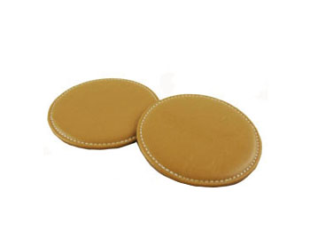 PVC Leather Table Drink Coasters