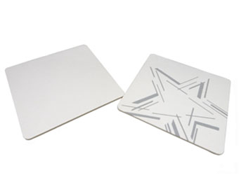 Square Absorbent Paper Board Drink Coasters