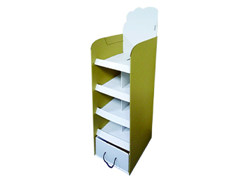 5 Tier Cardboard Display Rack
