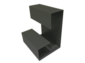 Adjustable L Shaped Desktop Storage Rack