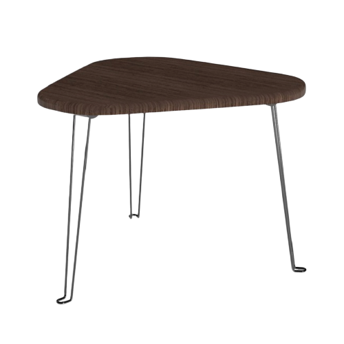 Triangle Wood Portable Laptop Table