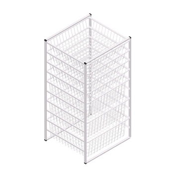 10 Tier Wire Drawer Storage Organizer