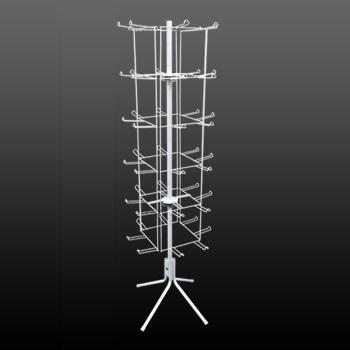 6 Tier Square Hanging Floor Spinner Rack