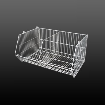 Stackable Wire Storage Basket Rack