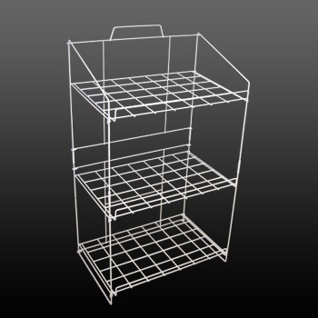 3 Tier Wire Floor Storage Display Stand