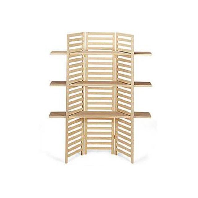 Folding Pine Wooden Display Shelves