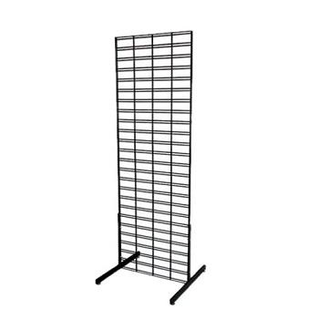 T-Shape Slatgrid Panel Legs Display