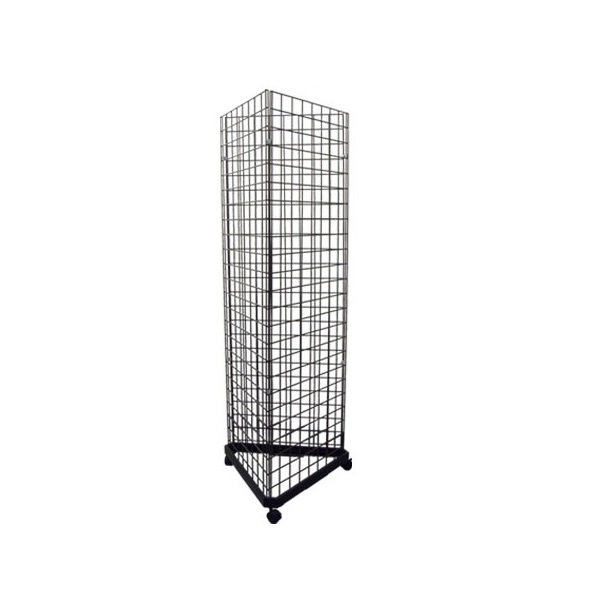 Triangle Wire Gridwall Panel Tower