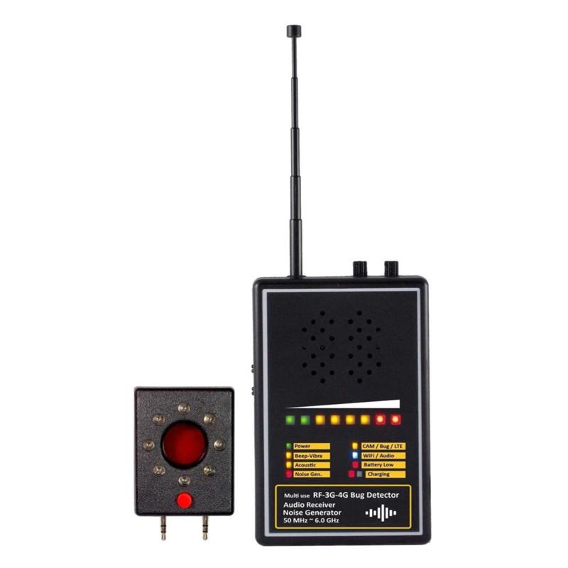 Audio Bug Demodulation Detector