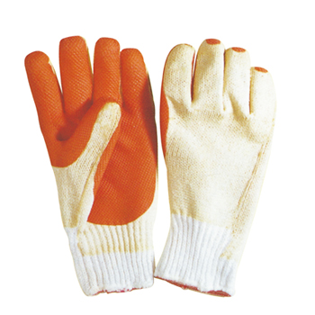 RUBBER COATED COTTON GLOVE