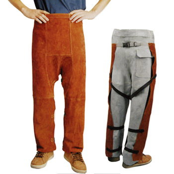 LEATHER WELDING CHAPS
