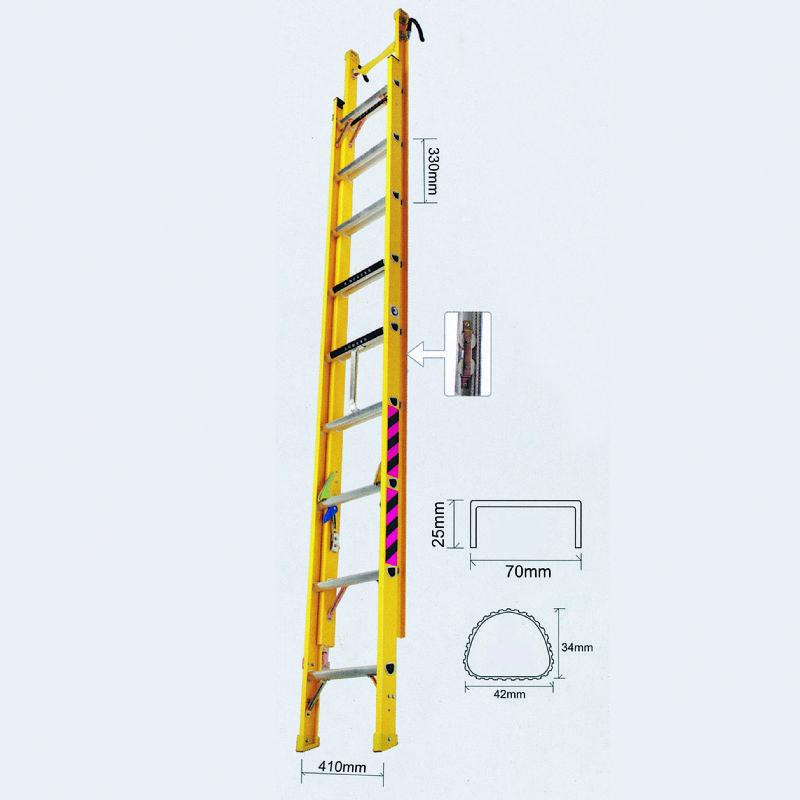 Fiberglass Extension Stepladder
