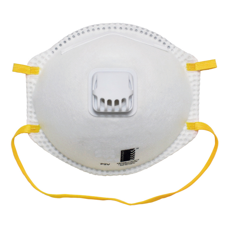 AS/NZS 1716:2012 FFP2 Nr Disposable Particulate Respirator With Exhalation Valve