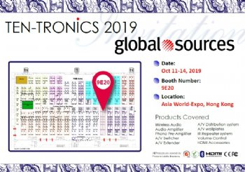 GLOBAL SOURCES ELECTRONICS SHOW HONG KONG 2019