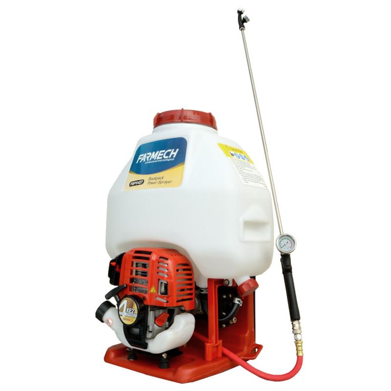 Power sprayer with plastic pump-CE type