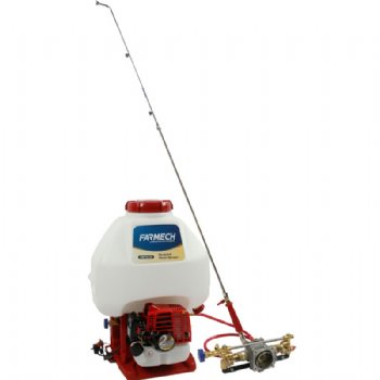 Power sprayer with brass pump