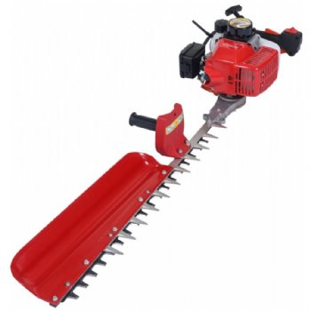 Hedge trimmer with single blade