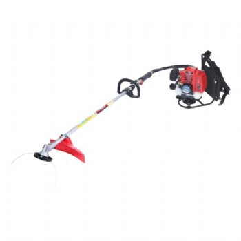 Knapsack brush cutter with FE43 engine