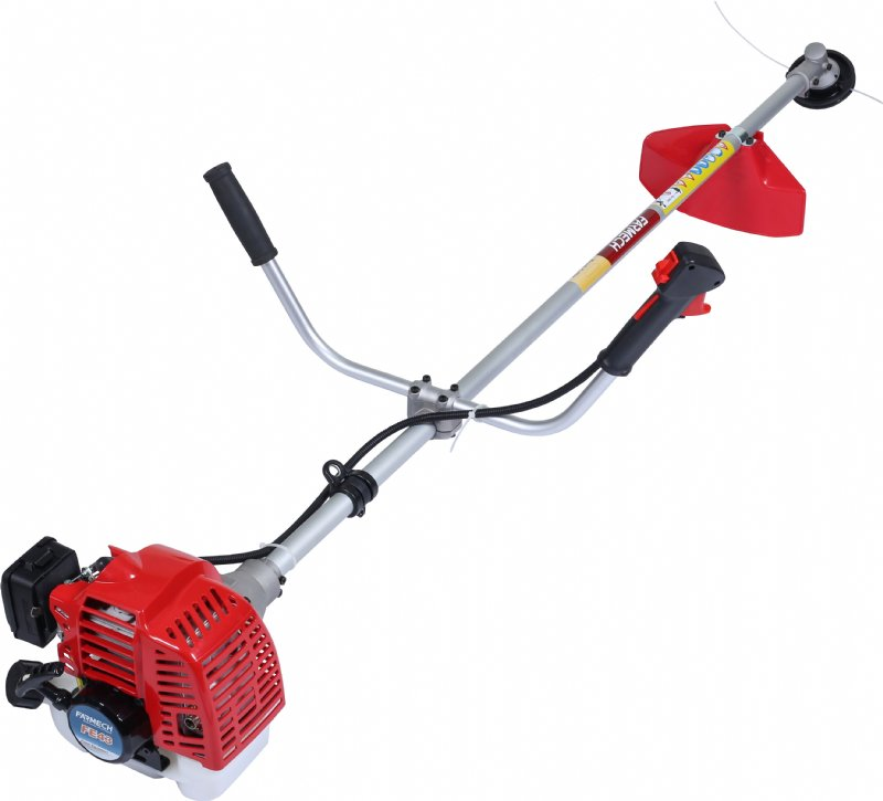 Brush cutter with U-type handlebar
