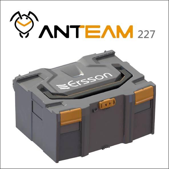 ANTEAM 227 Stackable case
