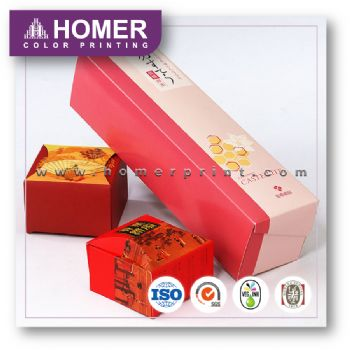 Hot Sale Stylish Custom Food Coated Paper Box